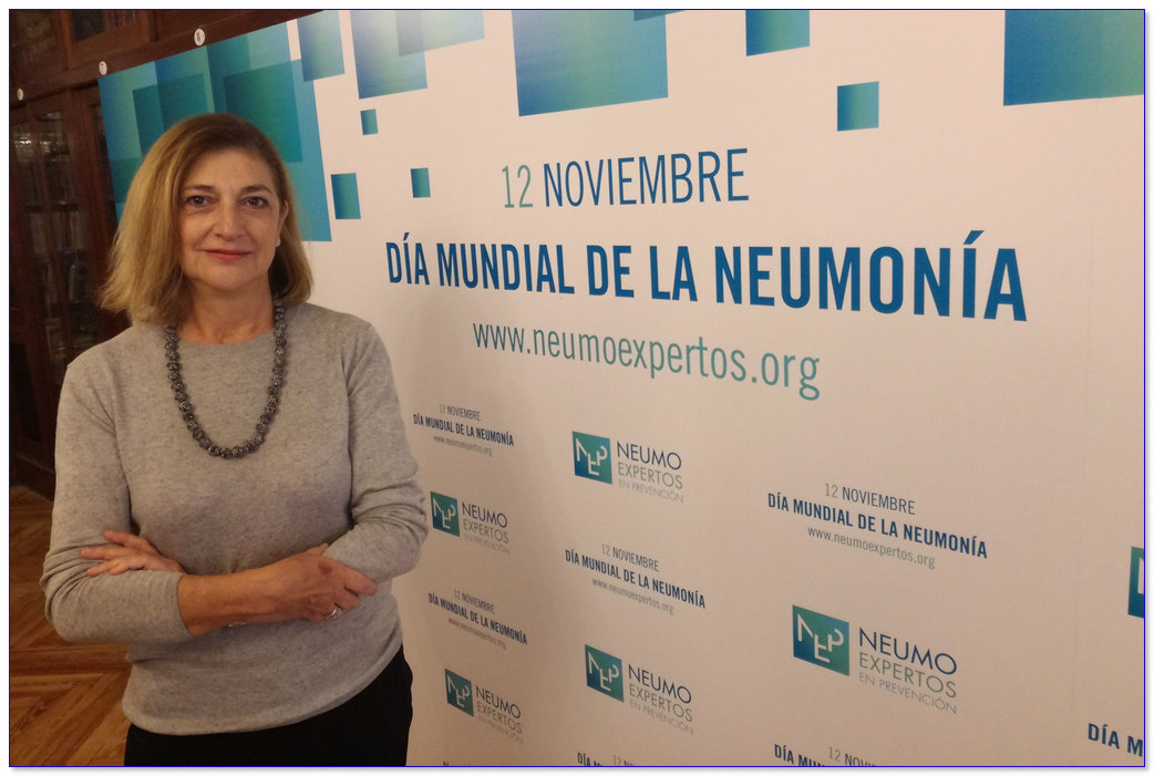 Dra Isabel Jimeno Día Mundial Neumonía 2017