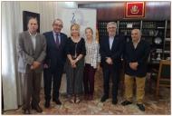 Foto de Familia visita Colegio de Médicos Valencia