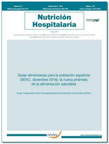 Guías alimentarias para la población española; la nueva